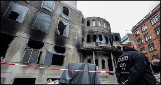 Germany Mosque Fire 1