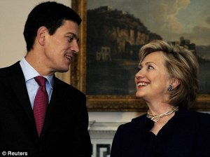 hillary and miliband