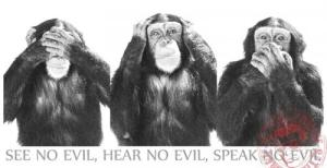 See no Islam, hear no Islam, speak no Islam
