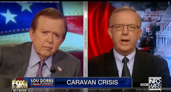Censored Lou Dobbs footage